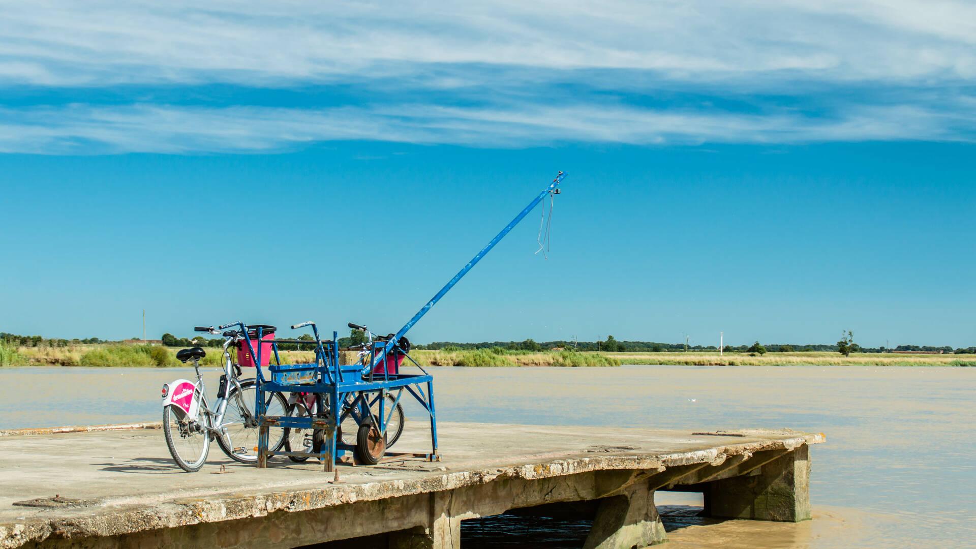 Balade à vélo au fil de la Charente - Rochefort Océan