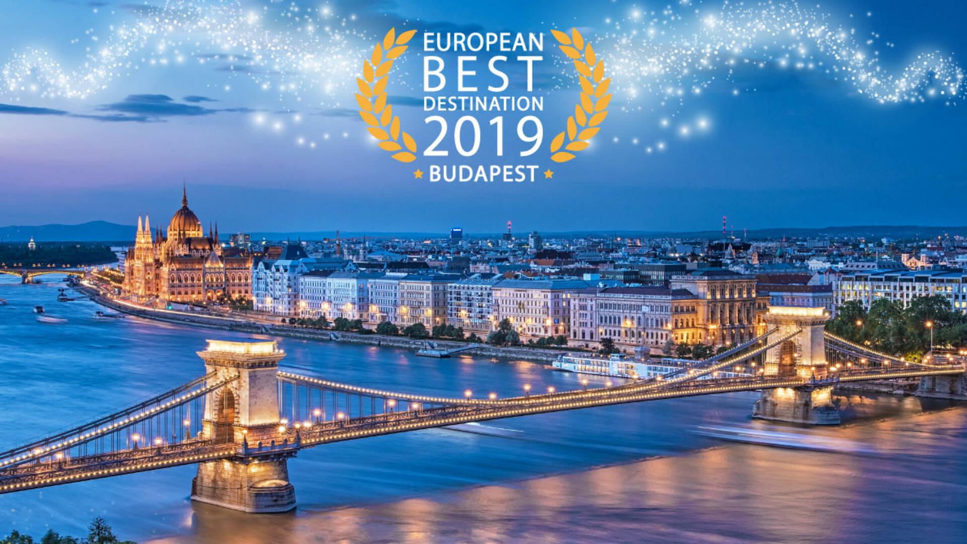 Budapest, élue European Best Destination 2019