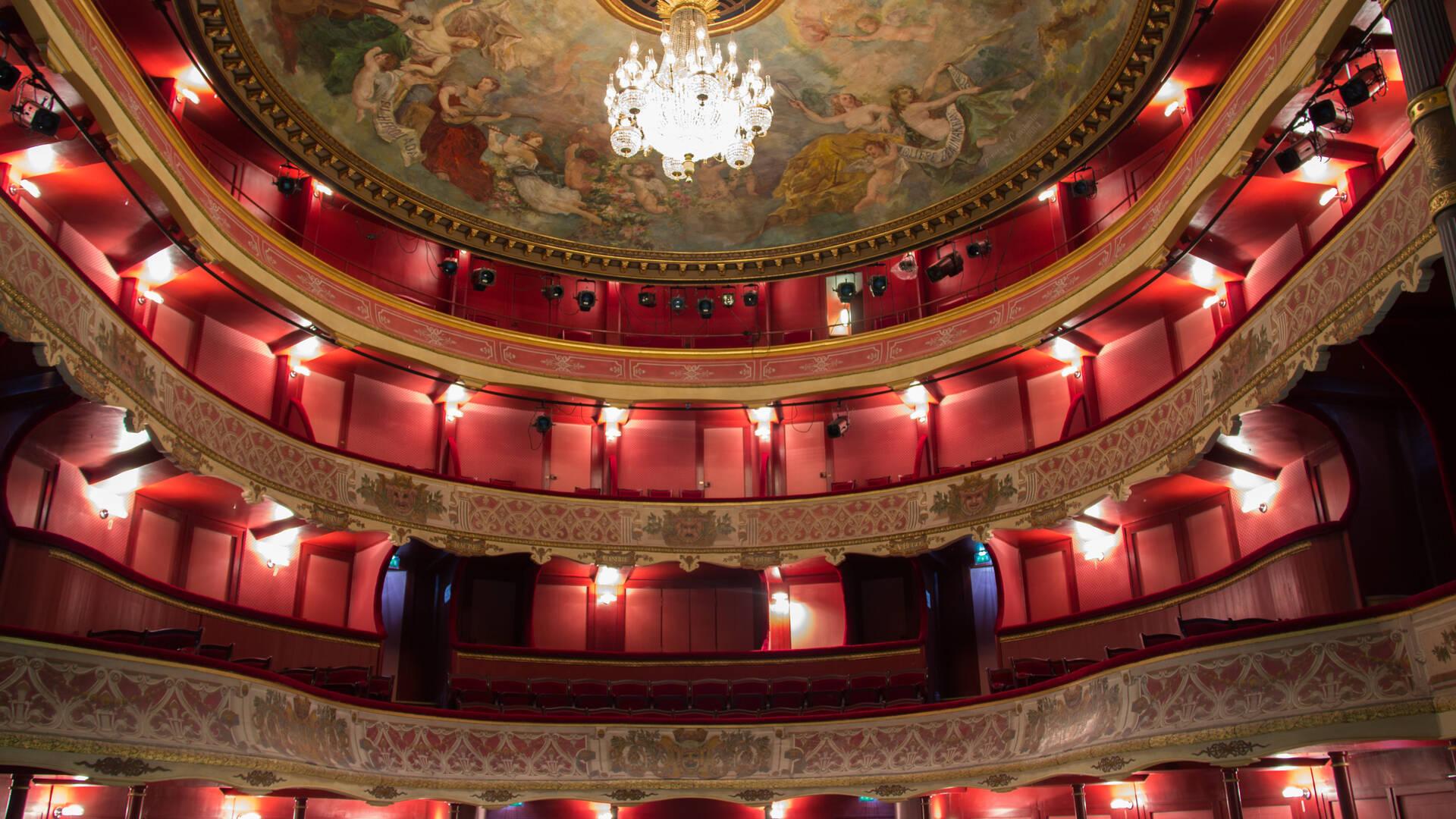 Spectacles au théâtre de la Coupe d'Or, Rochefort © D.Compain