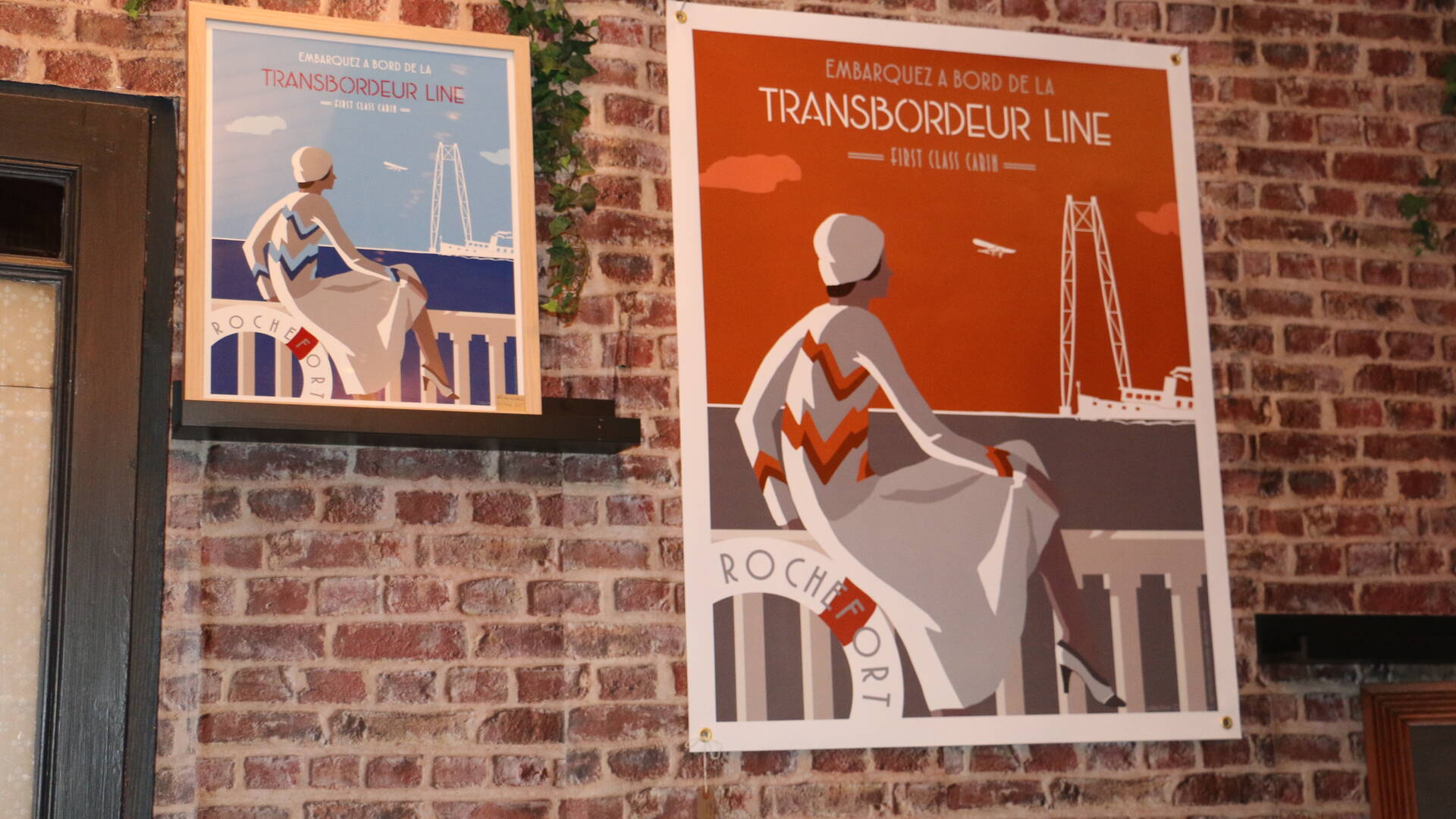 Boutique Rampe Arts,Transbordeur Line, Pont Transbordeur, Rochefort, Rochefort Océan