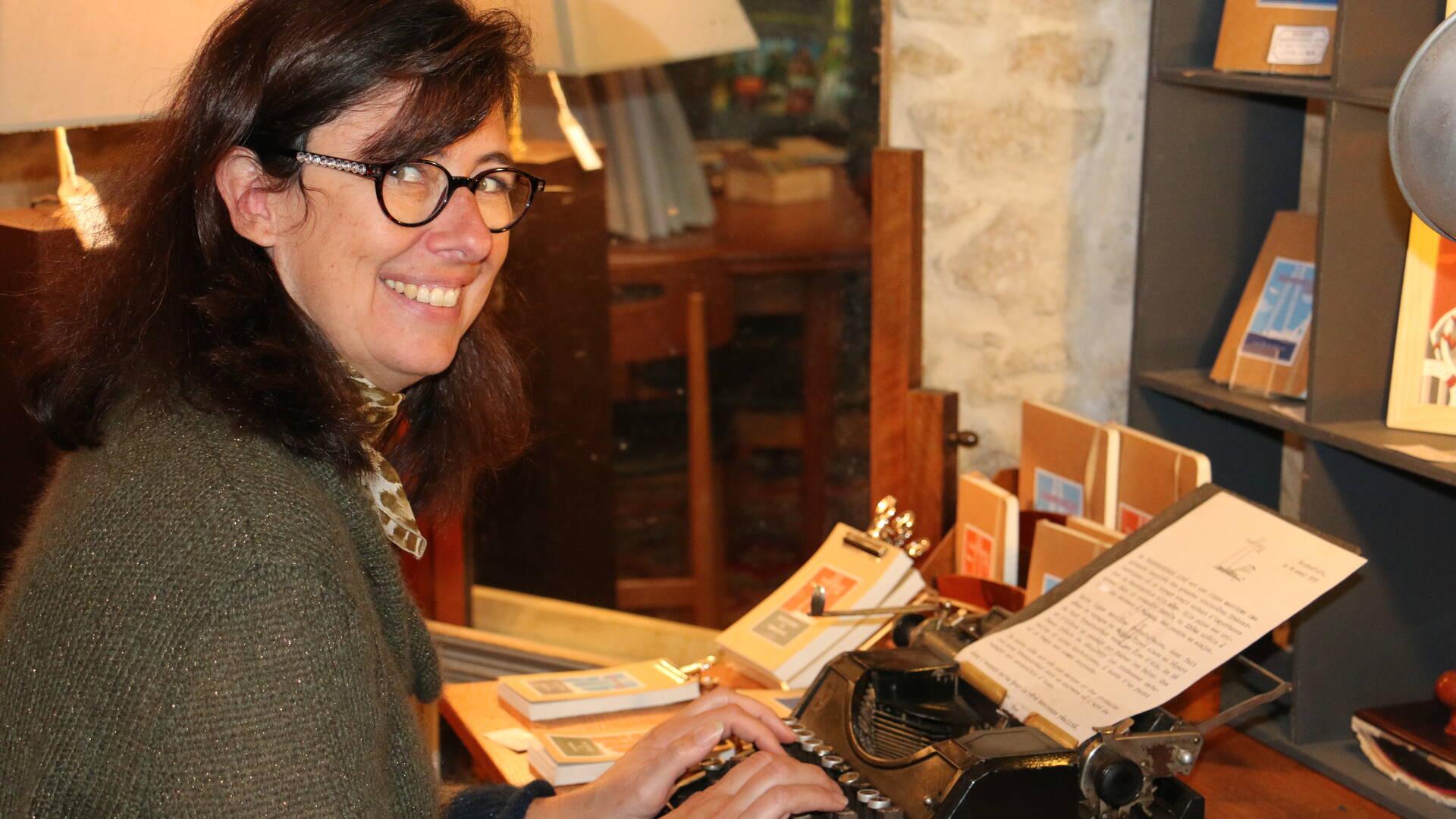 Erika Bienabe, boutique Rampe Arts, Rochefort