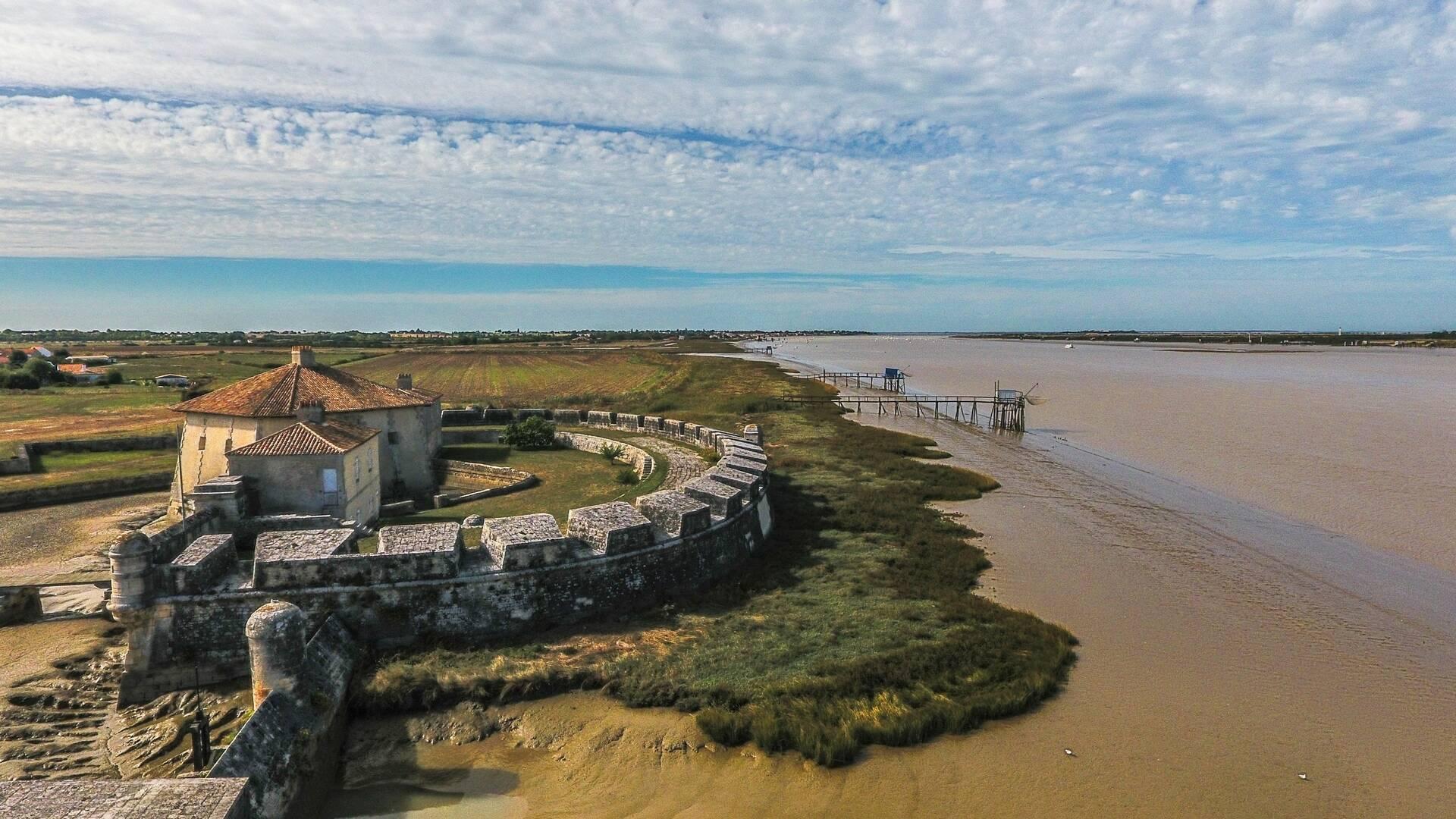 Fort Lupin à Saint Nazaire sur Charente © Laurent Petillon