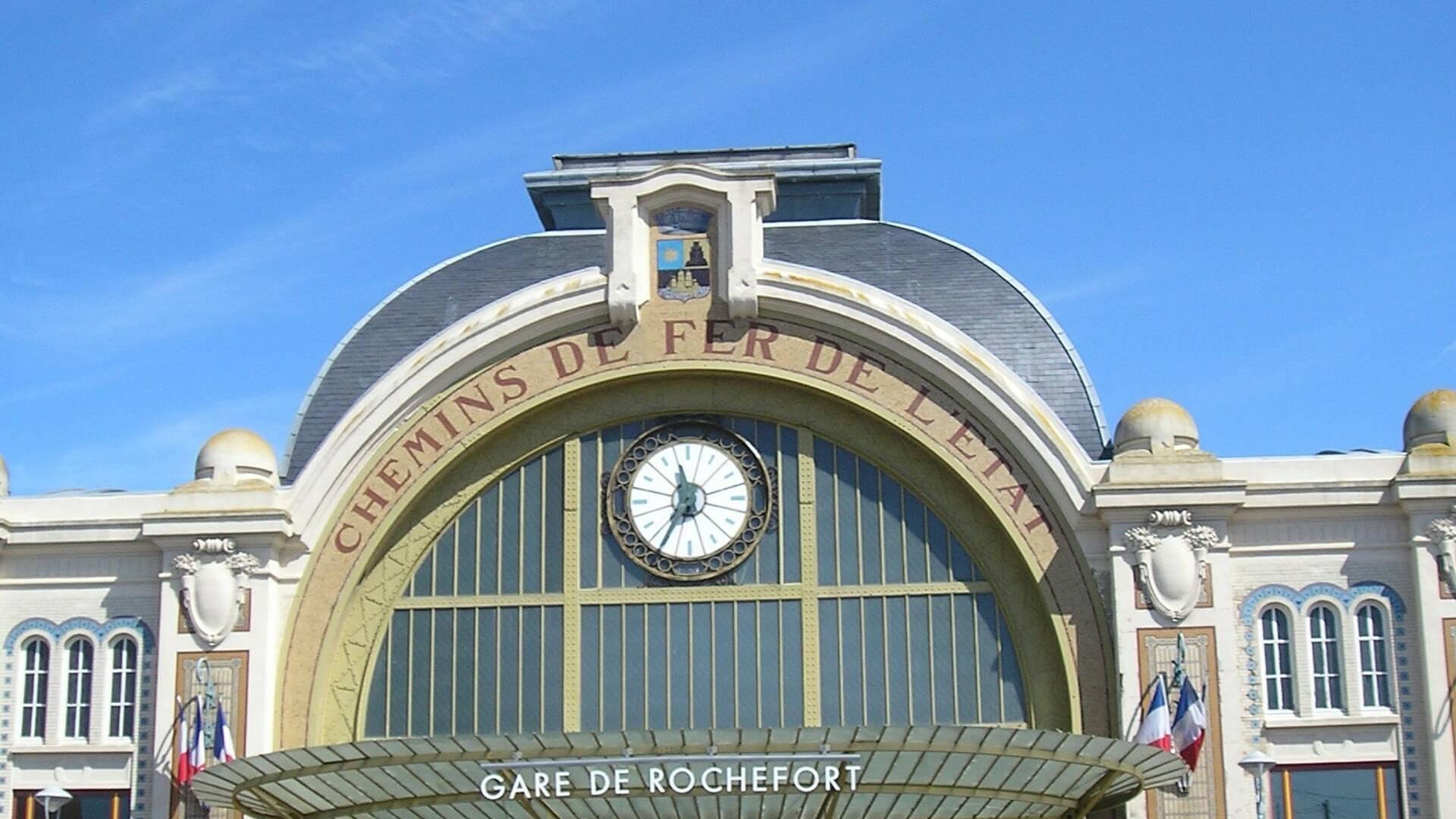 La gare de Rochefort - Rochefort Océan