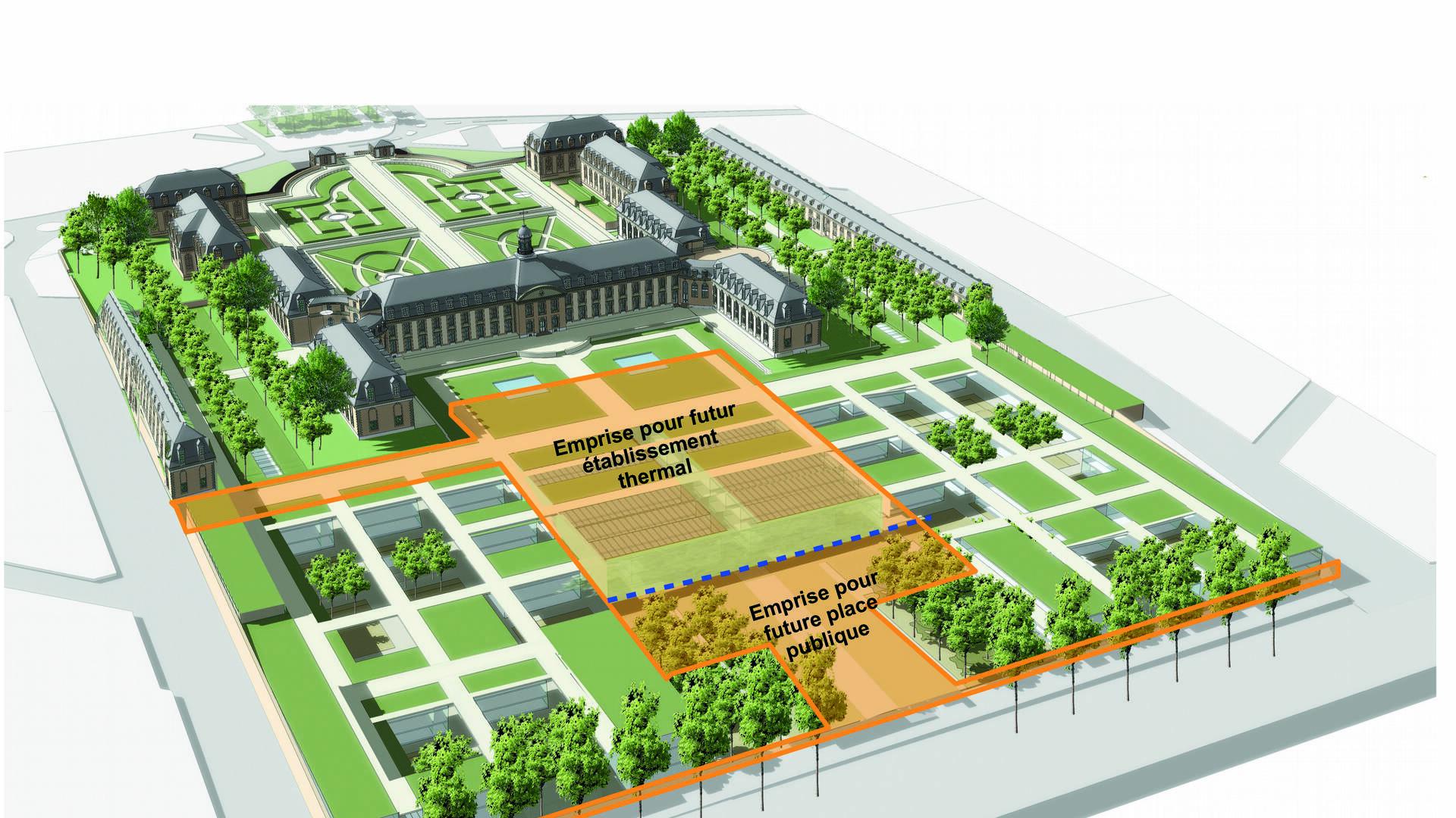 Projet de réhabilitation de l'Hôpital en établissement thermal