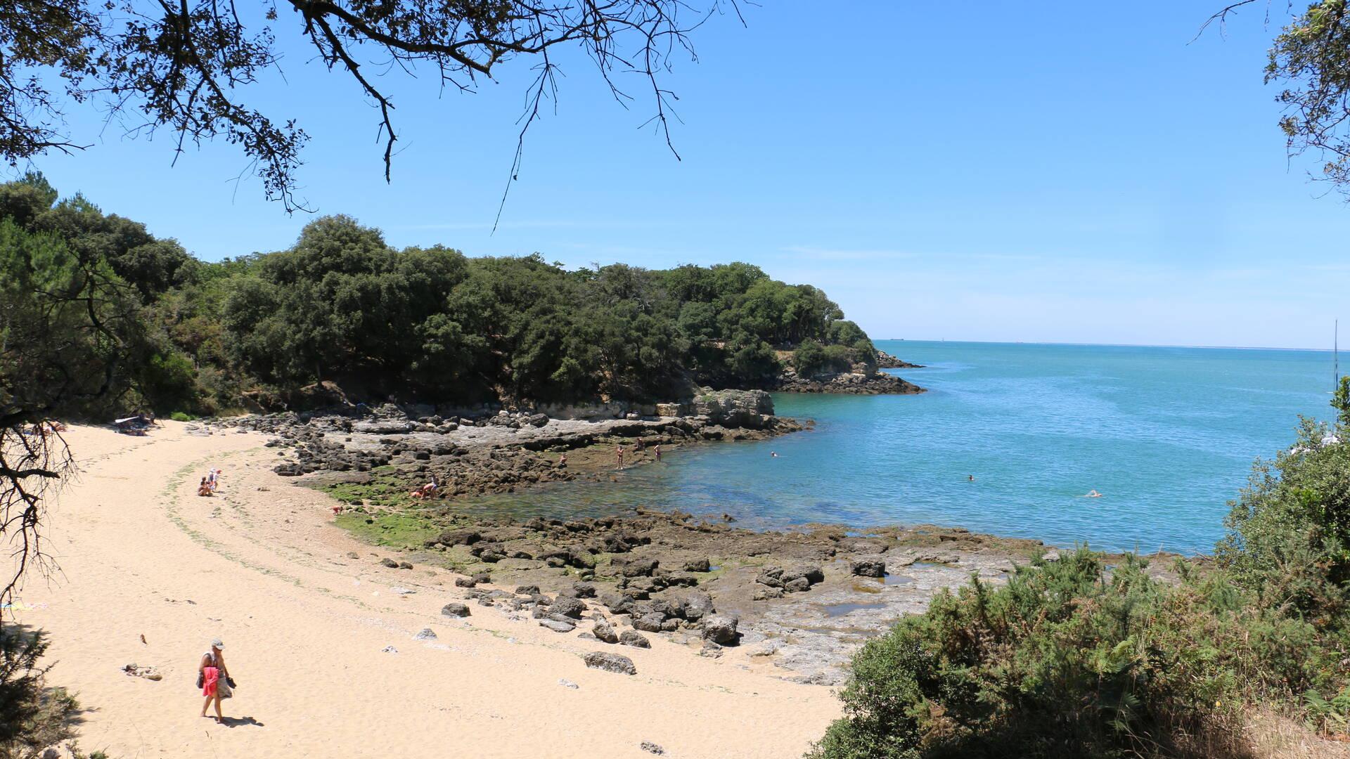 Les plages autour du Fort Liédot