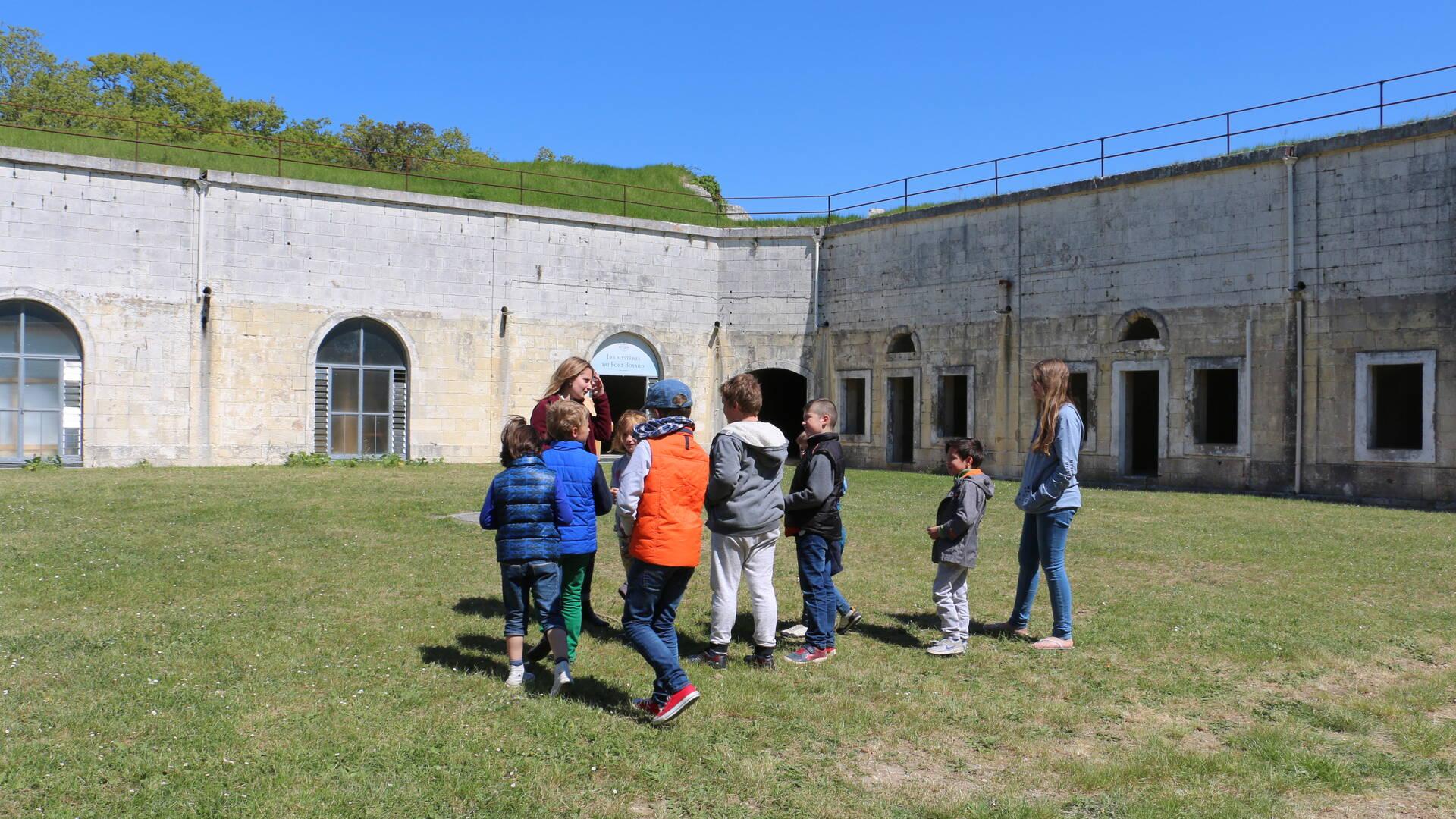 Aventure créative au fort Liédot, île d'Aix © M. Domenici