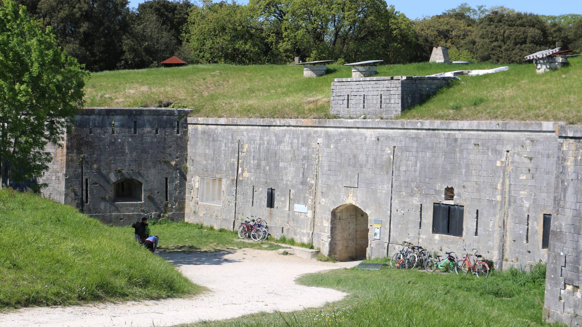 Fort Liédot, île d'Aix © M. Domenici