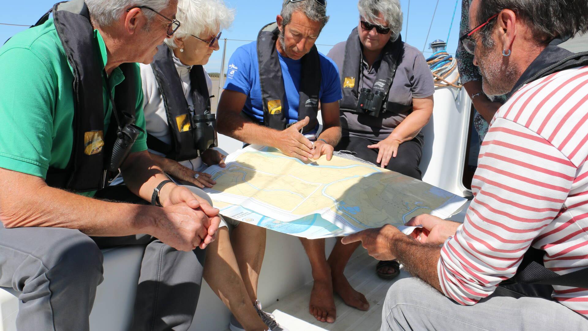 Explication du parcours par le skipper