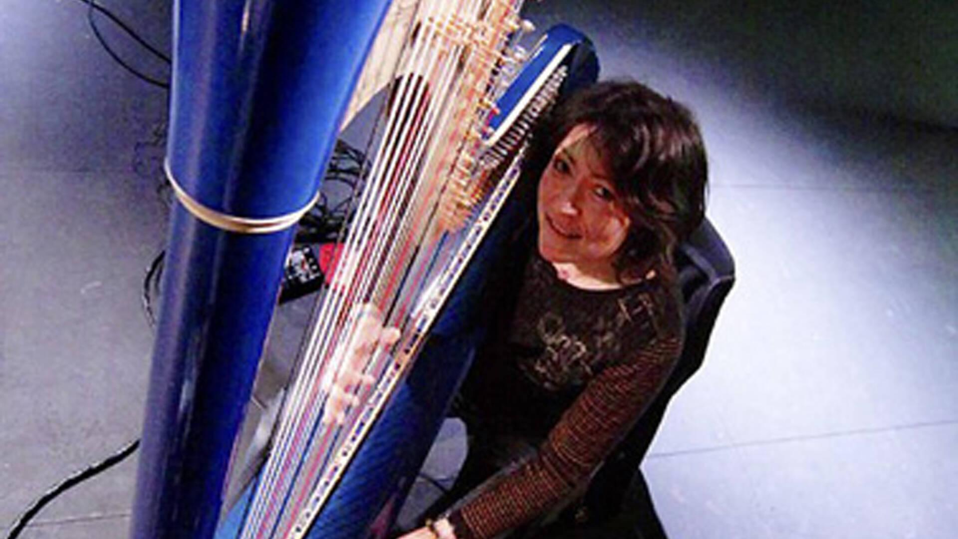 Magali Zsigmond, harpiste, Rochefort Océan