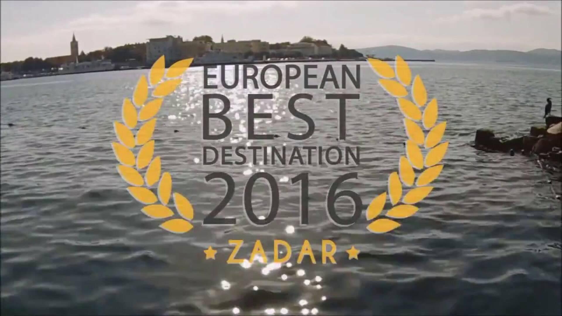ZADAR en Croatie, élue European Best Destination en 2016