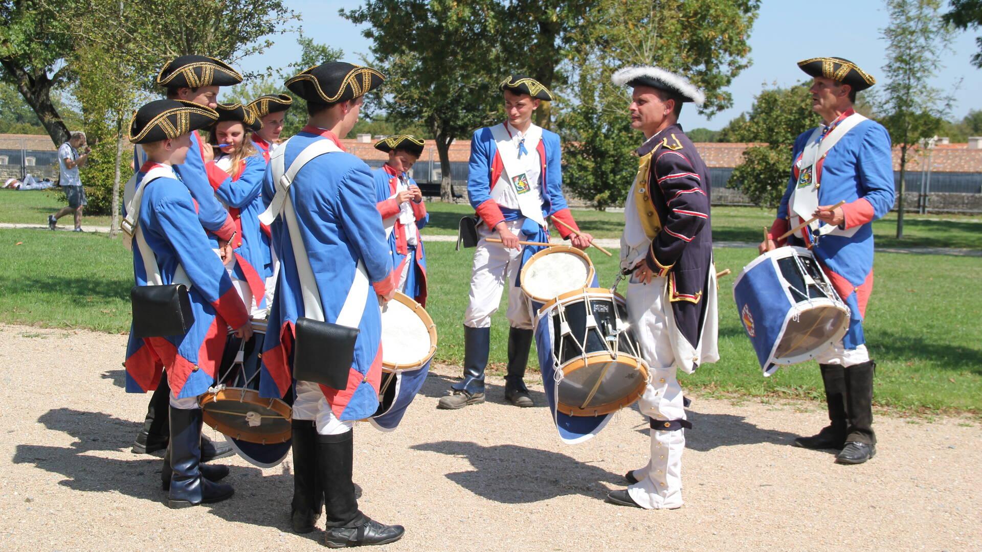 26 et 27 août 2017, Rochefort fête La Fayette © F. Marzo Office de Tourisme Rochefort Océan