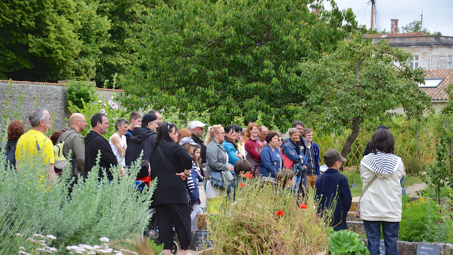 Guided visit of the Potager du Roy - © Samuel Courtois