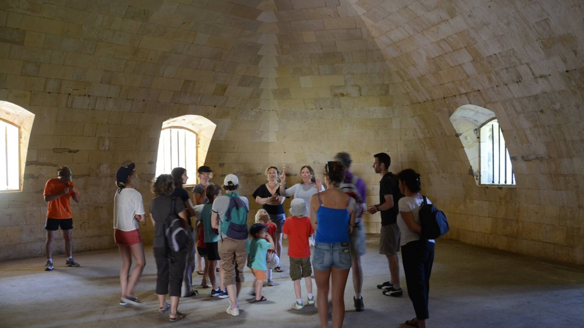 Guided visit of Fort Liédot in Aix Island - © Samuel Courtois