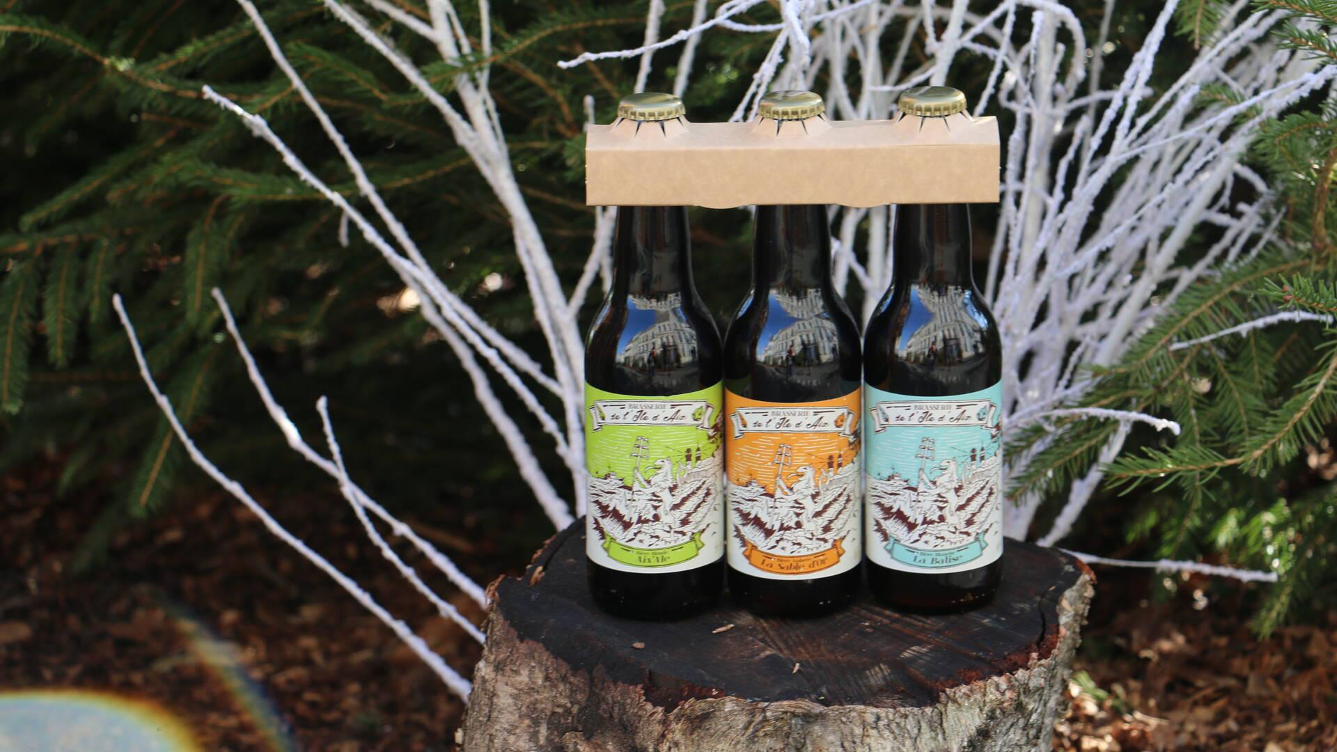 Faîtes découvrir les bières de l'île d'Aix à la Saint-Valentin © Office de Tourisme Rochefort Océan
