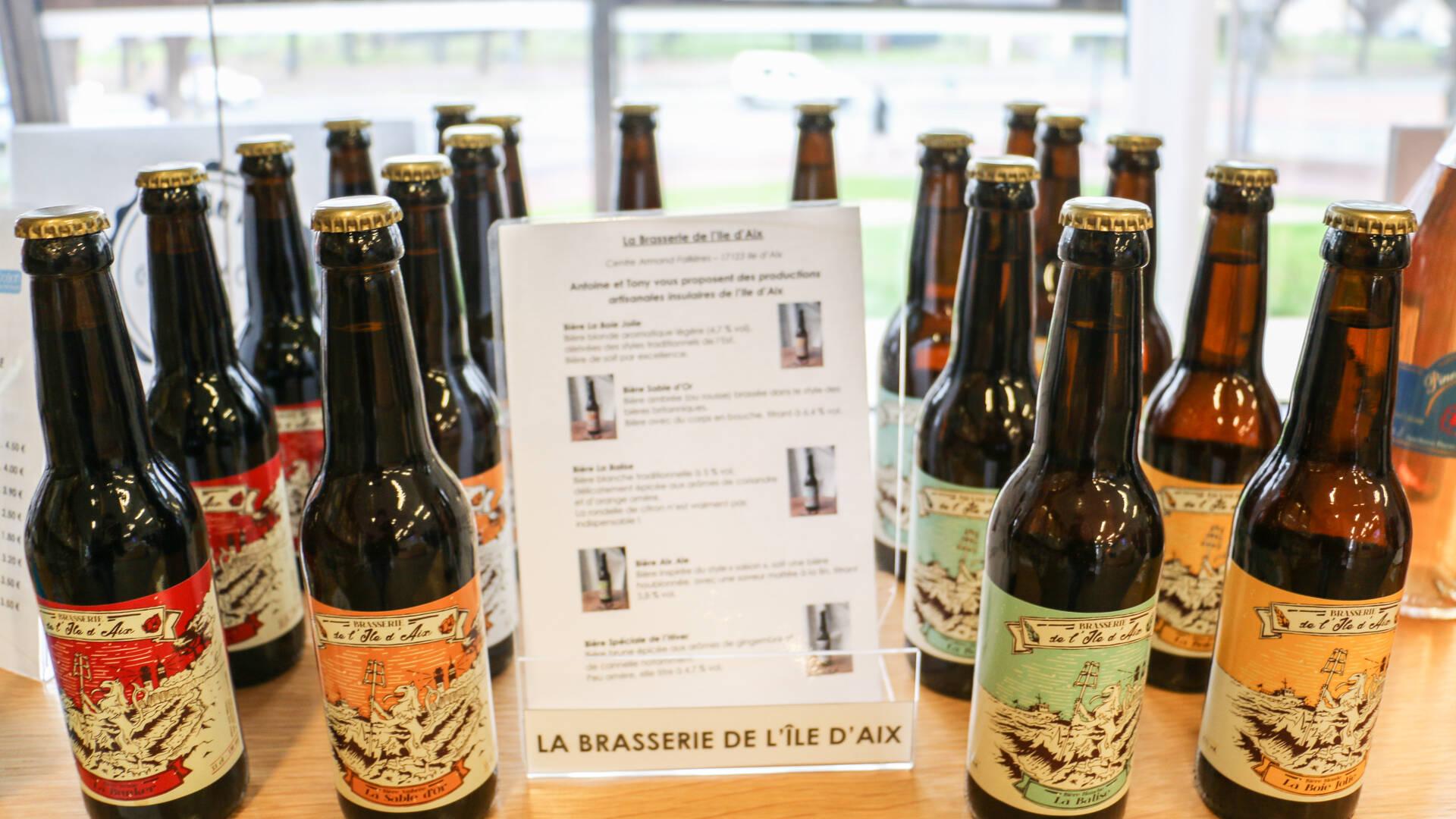 Les bières artisanales de l'île d'Aix ©S.Boutin