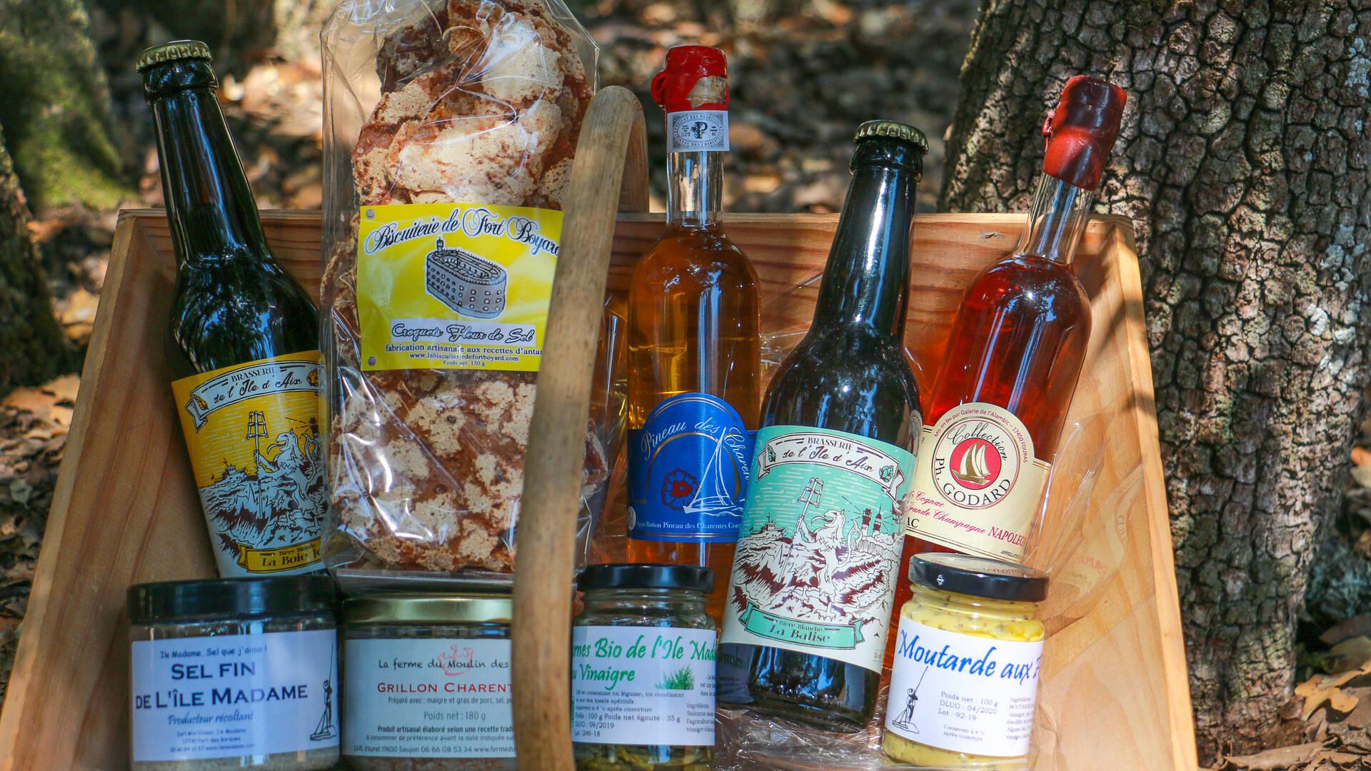 Les produits locaux disponibles en boutique ©J.Paulet