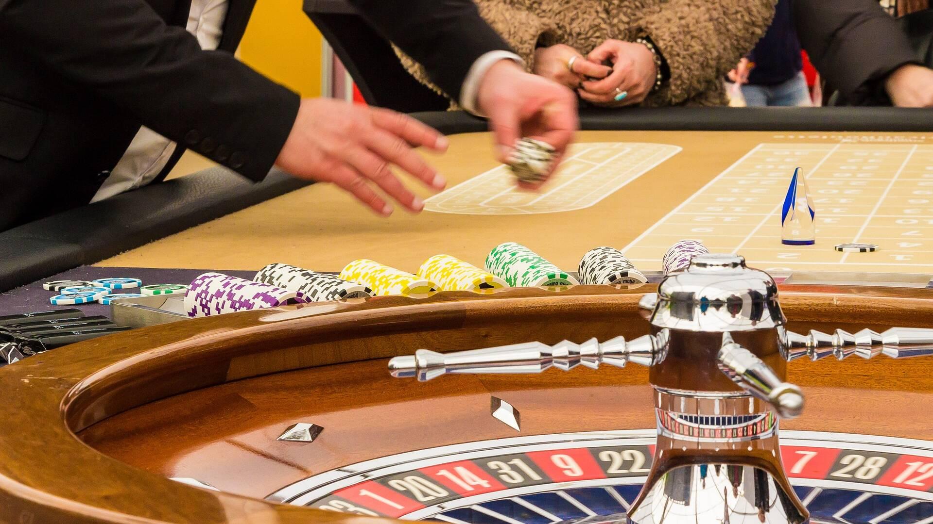 Jeux, roulette au Casino de Fouras-les-Bains