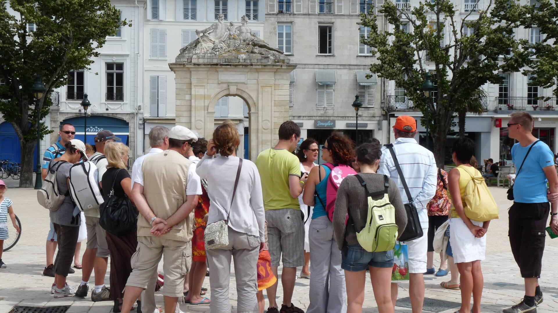 Visite guidée de Rochefort, Place Colbert - © Office de tourisme Rochefort Océan