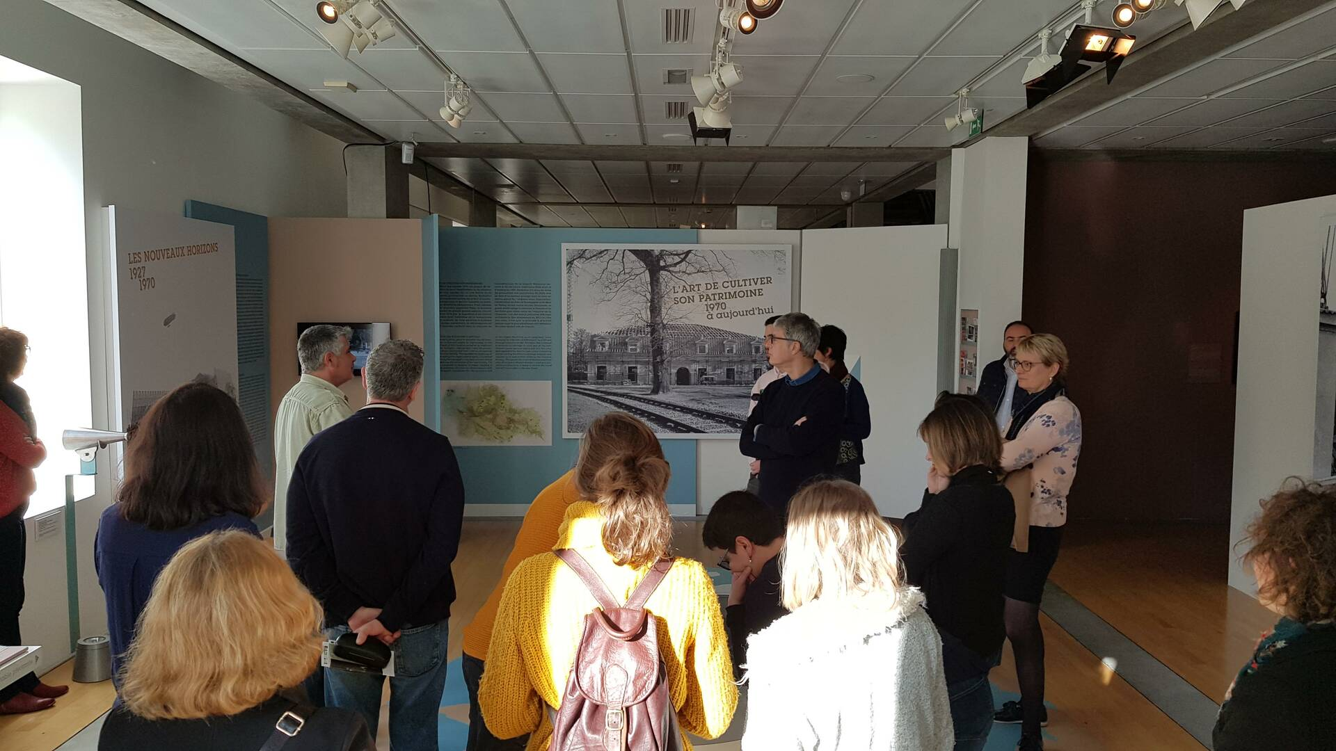 La 2e pièce invite les visiteurs à comprendre l'évolution de la ville depuis le XVIIIe siècle - © OT Rochefort Océan