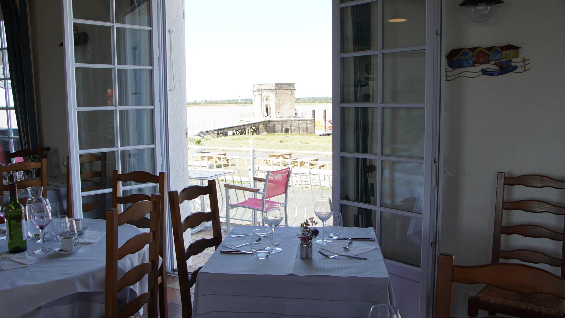 Restaurant L'Escale de Lupin, St Nazaire sur Charente, Rochefort Océan ©Chrystelle ECALE