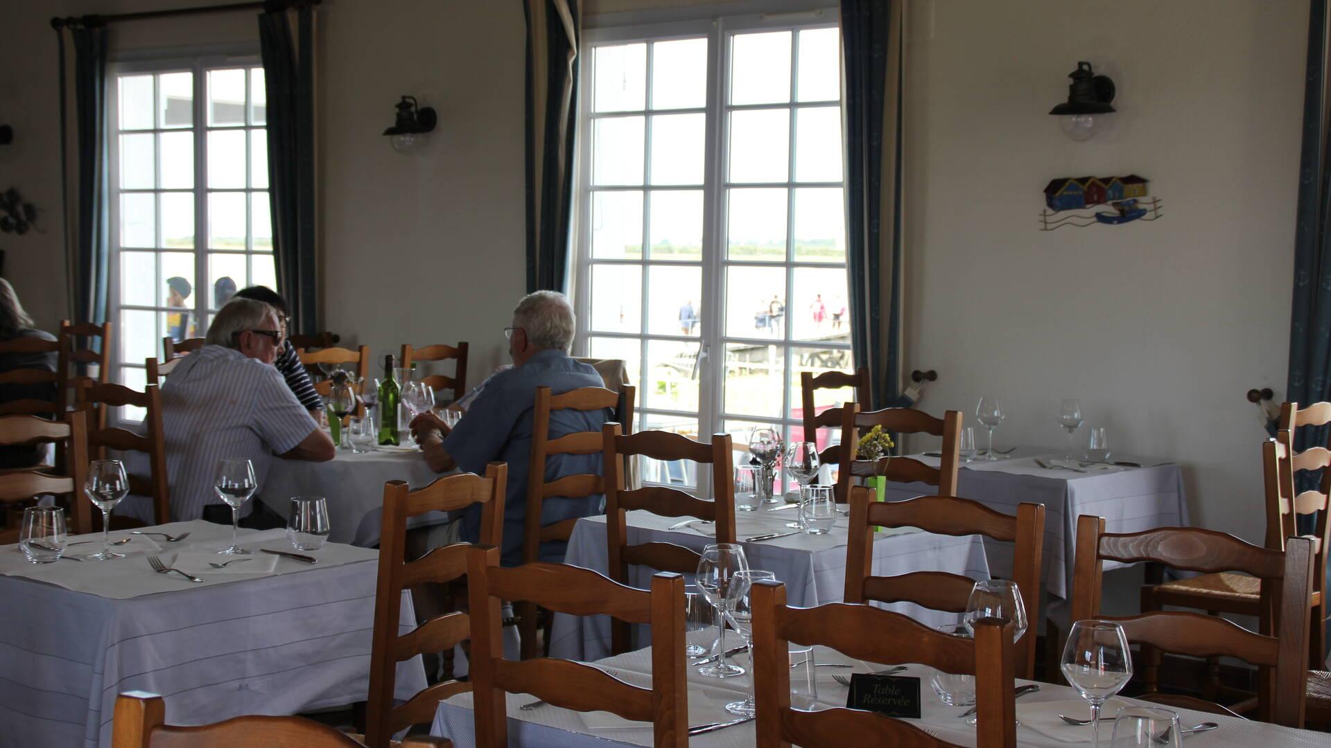 Restaurant L'Escale de Lupin, St Nazaire sur Charente, Rochefort Océan