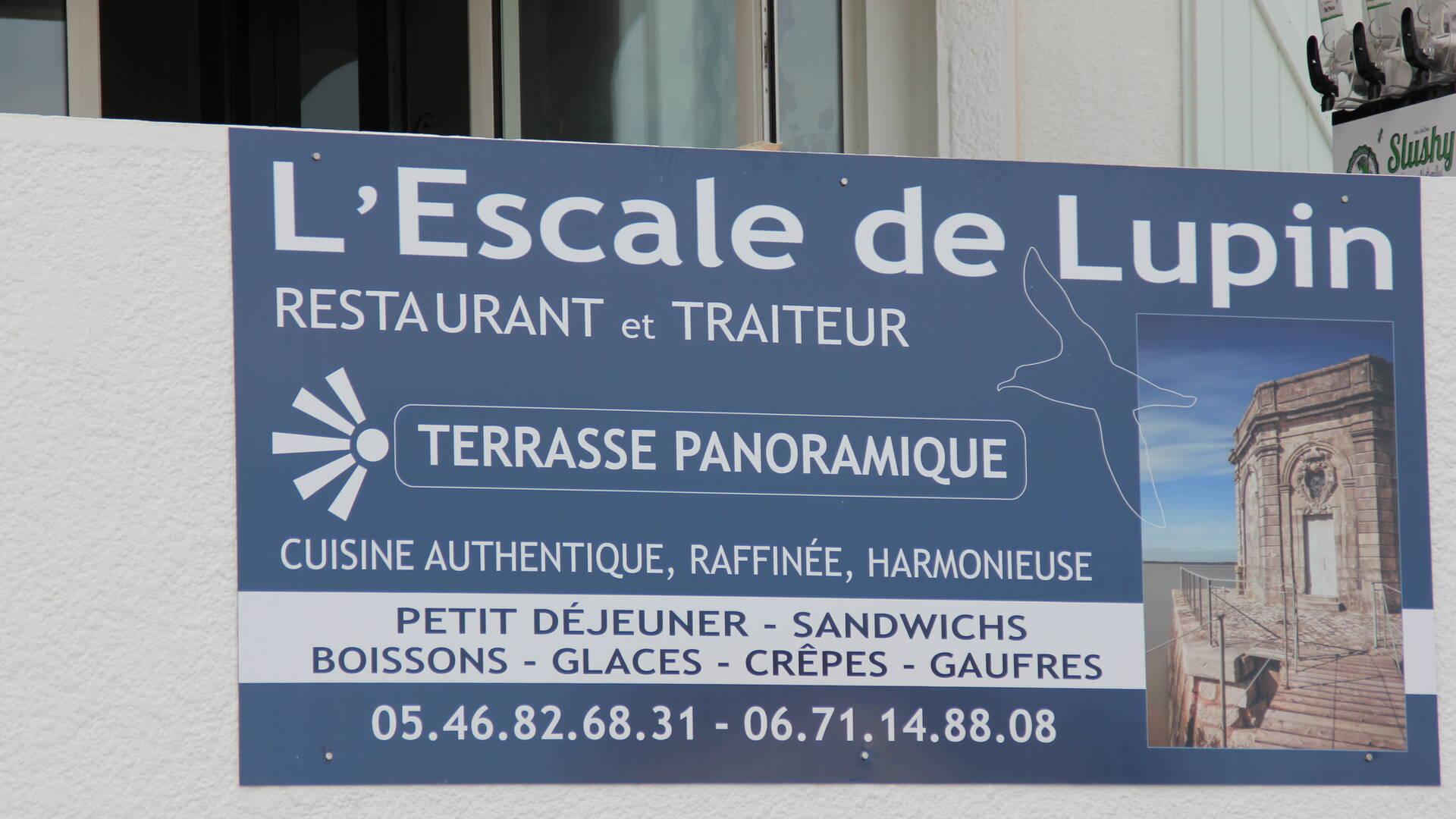 Vue panoramique sur la Charente au restaurant L'Escale de Lupin à St Nazaire sur Charente, Rochefort Océan