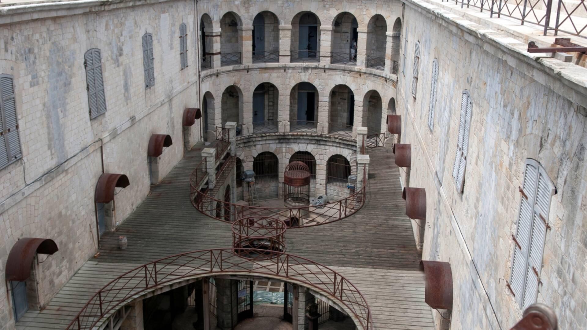 Intérieur du Fort Boyard