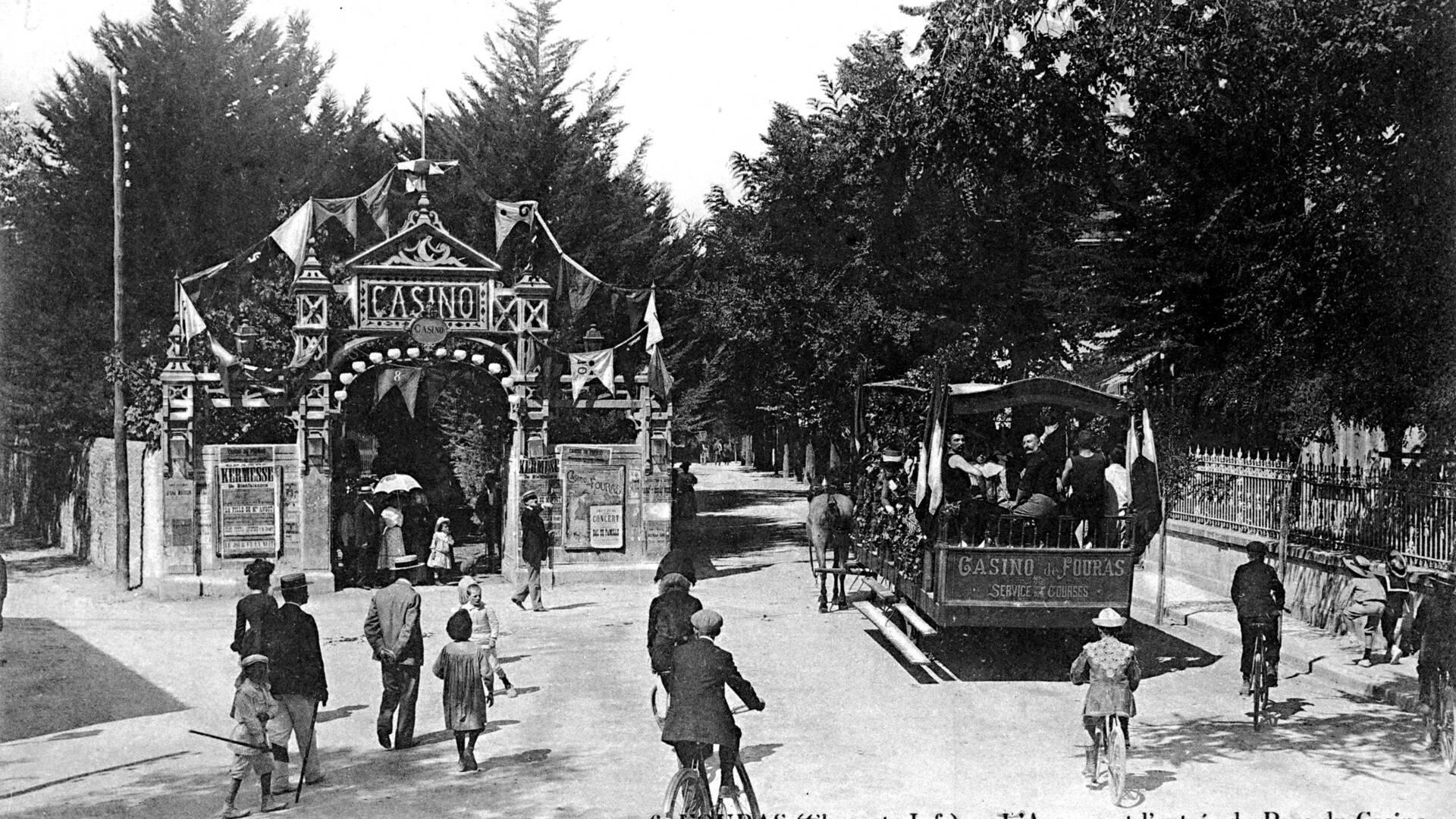 Fouras-les-Bains, le casino, station balnéaire, Rochefort Océan