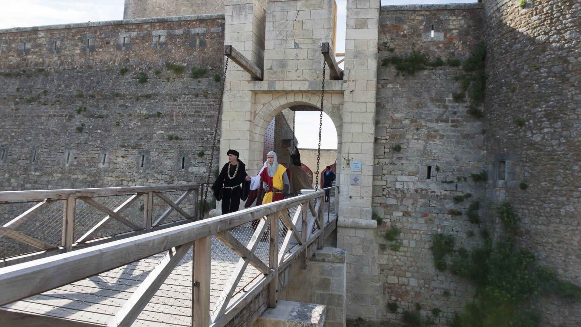 """Visite théâtralisée """"Les fantômes du passé"""", fort Vauban, Fouras-les-Bains, Rochefort Océan"""