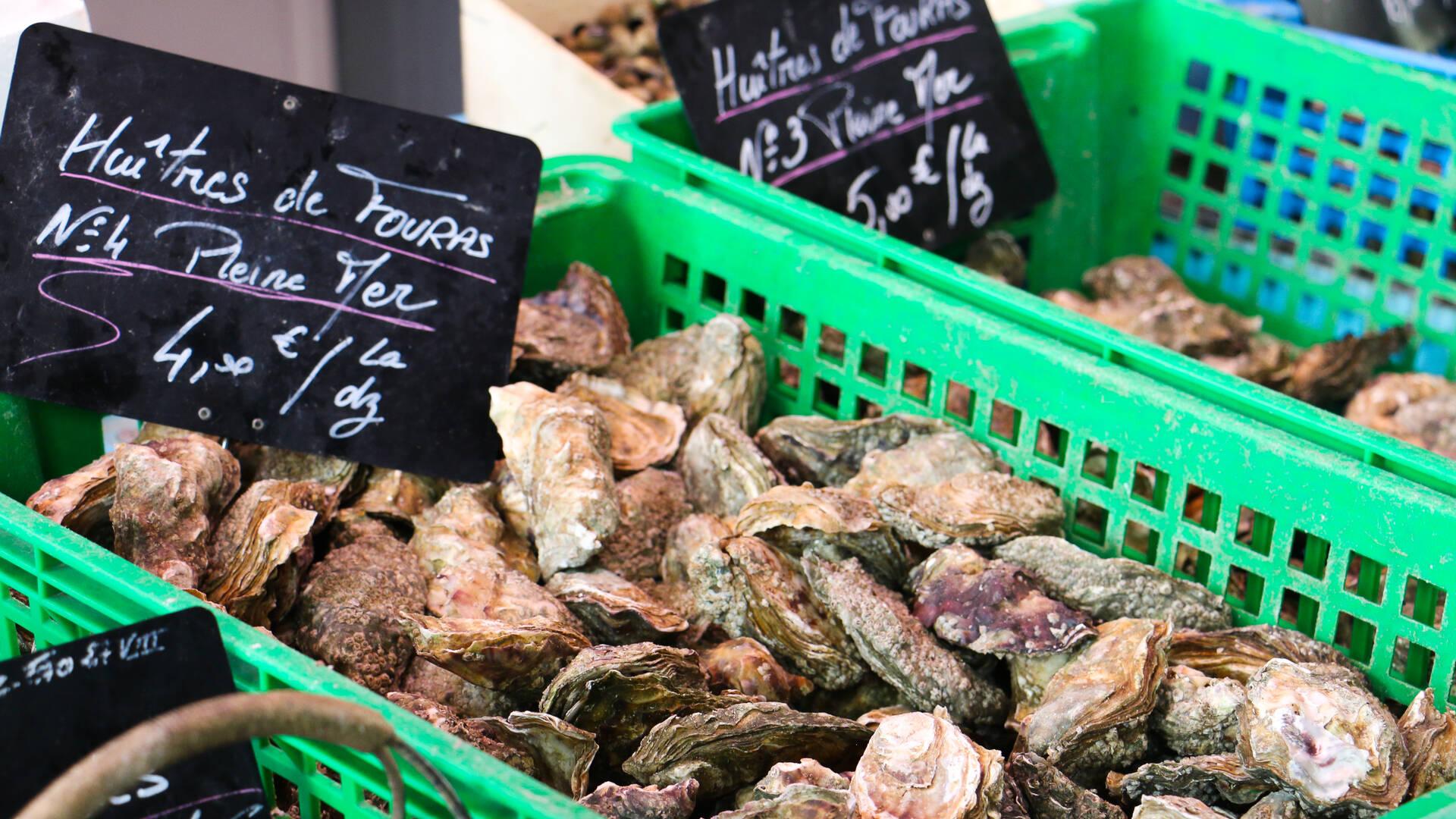 Offrir des huîtres à la Saint-Valentin © Office Tourisme Rochefort Océan