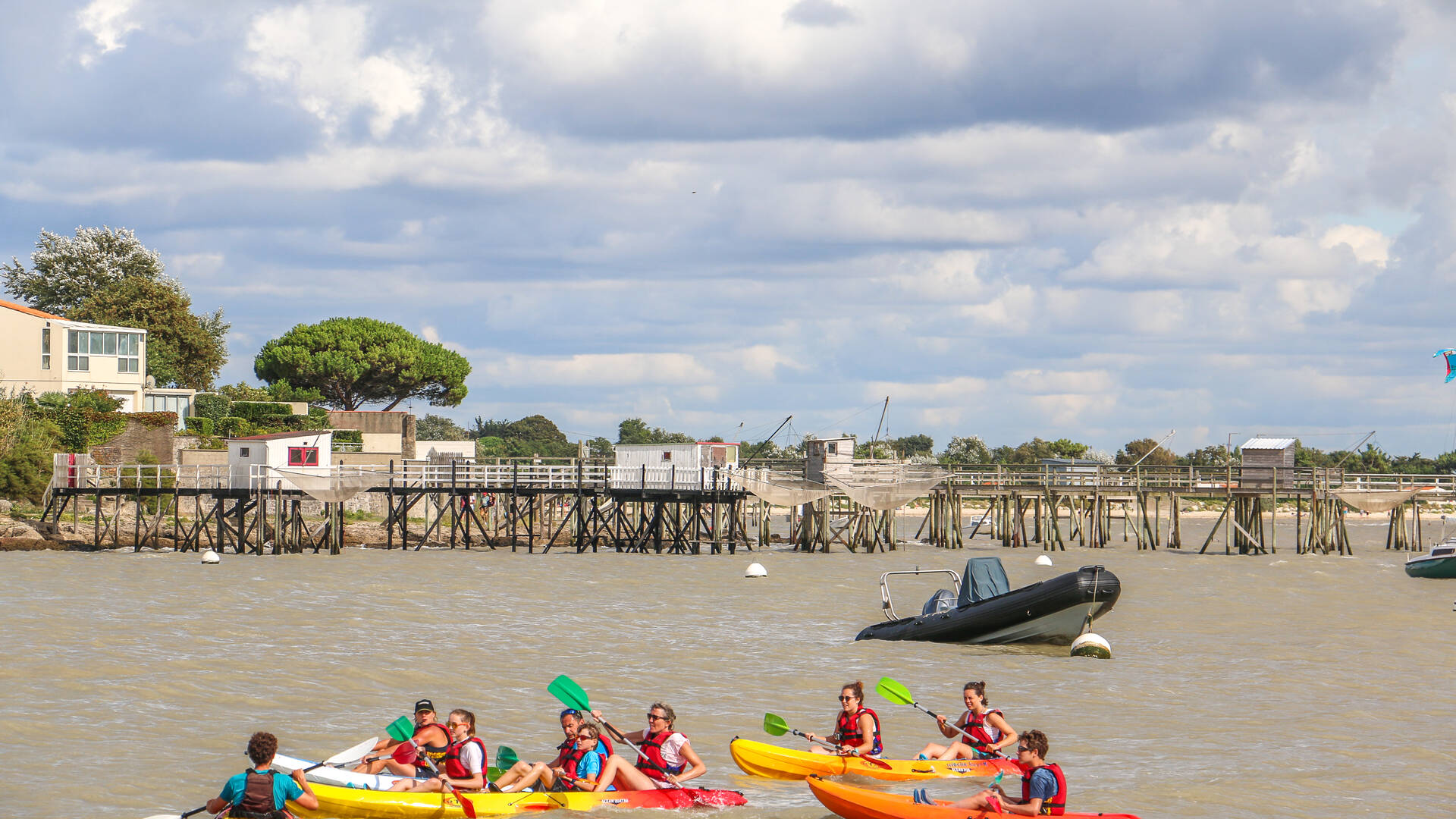 Nautisme, randonnée en kayak avec Antioche Kayak à Fouras, Rochefort Océan