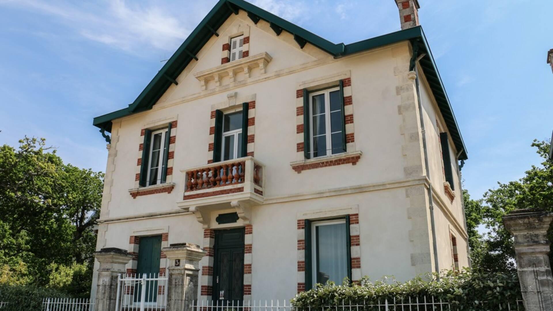 Villa balnéaire, Fouras-les-Bains, Rochefort Océan