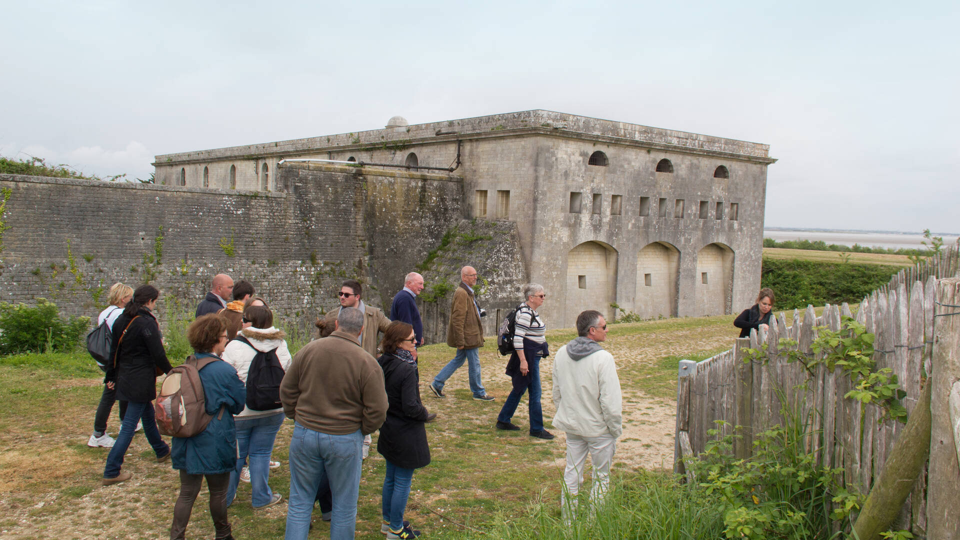Guided visit of the fort in Madame Island- © Office de tourisme Rochefort Océan