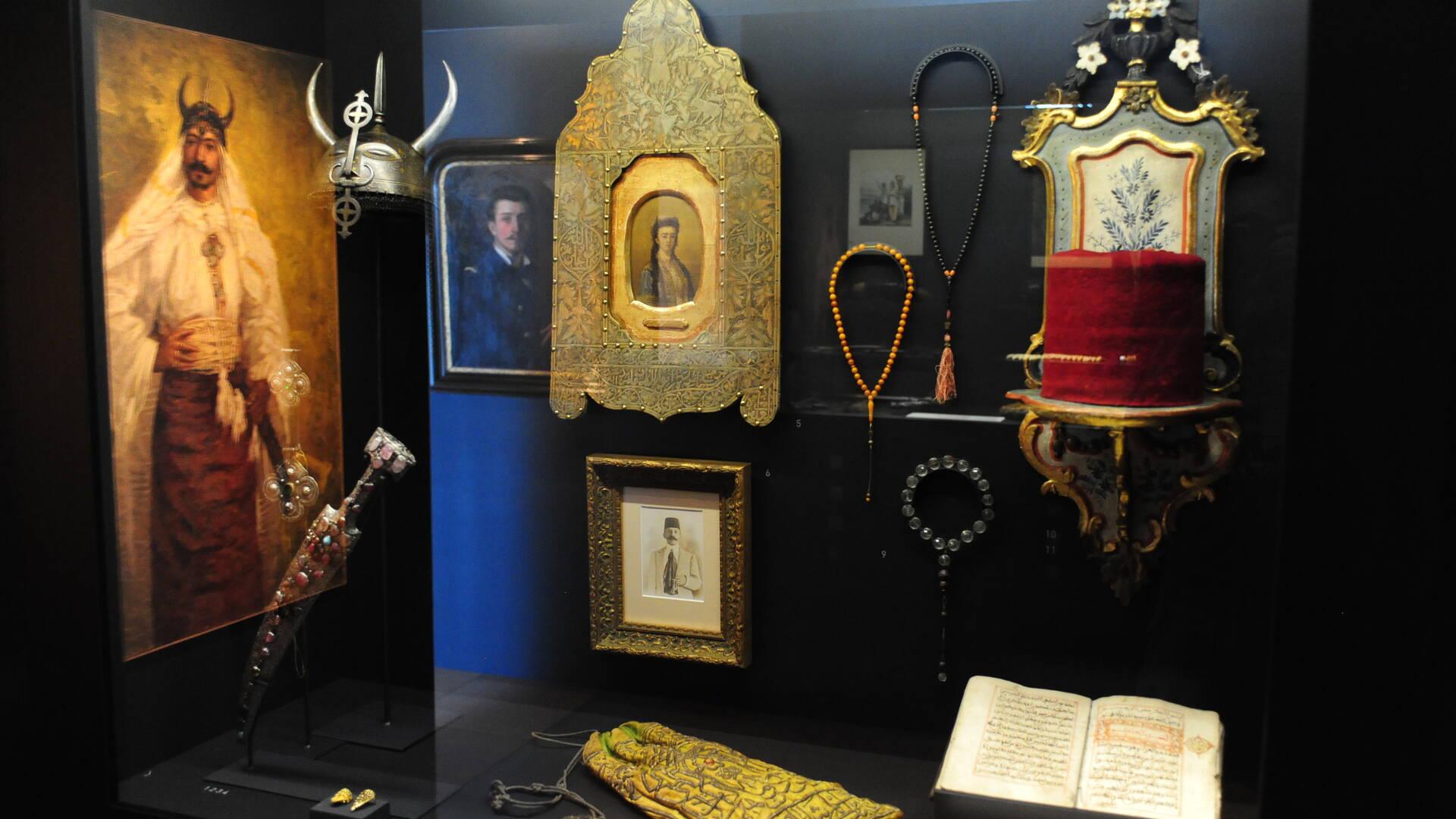 Musée Hèbre, exposition, univers Loti, Rochefort Océan