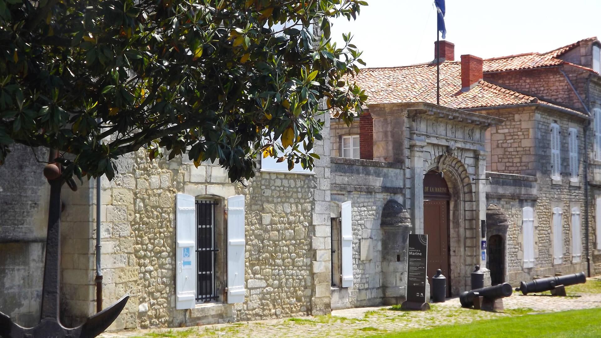 Le musée national de la Marine, Rochefort Océan