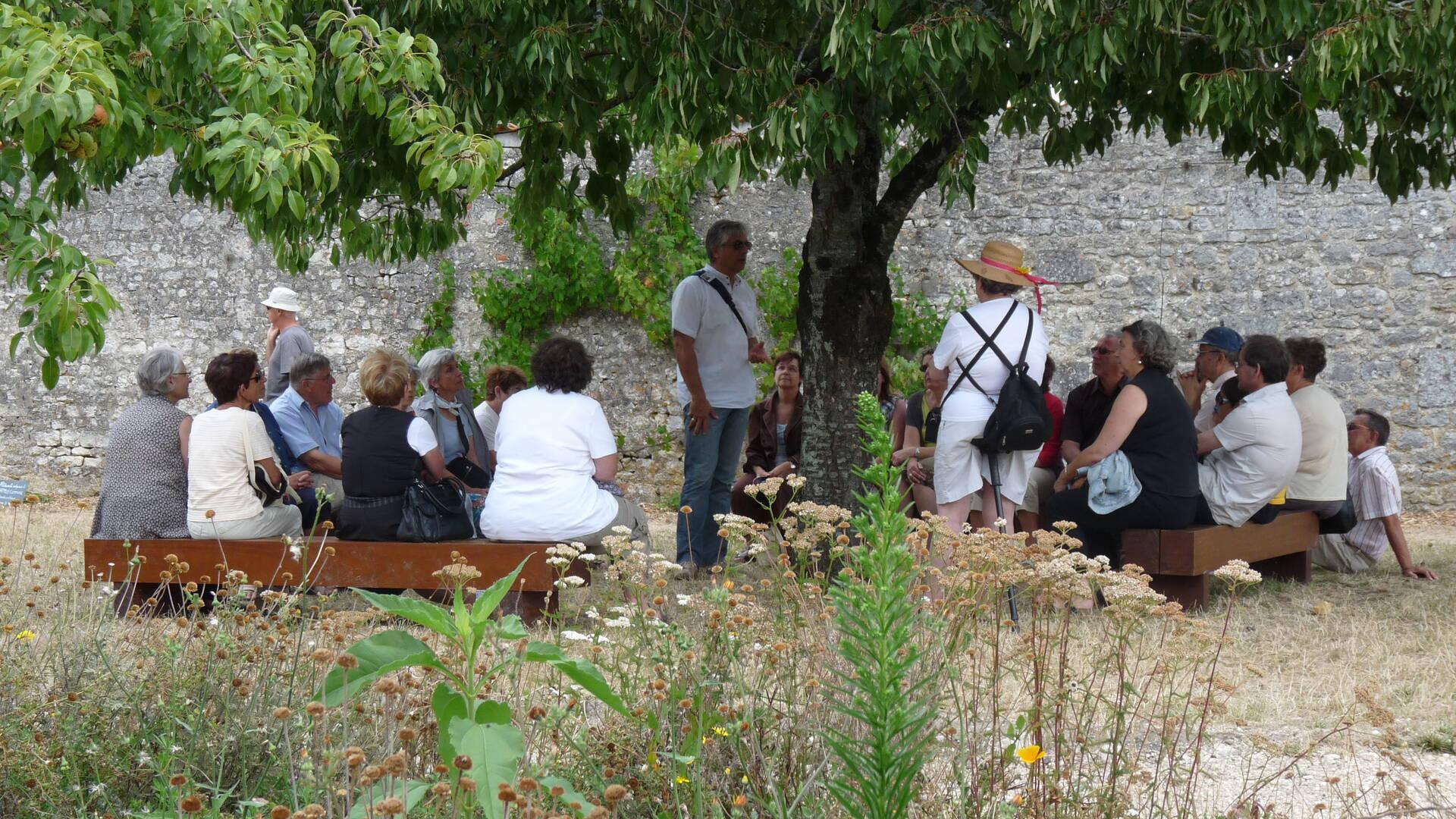 Visite guidée au Potager du Roy à Rochefort - © Office de tourisme Rochefort Océan