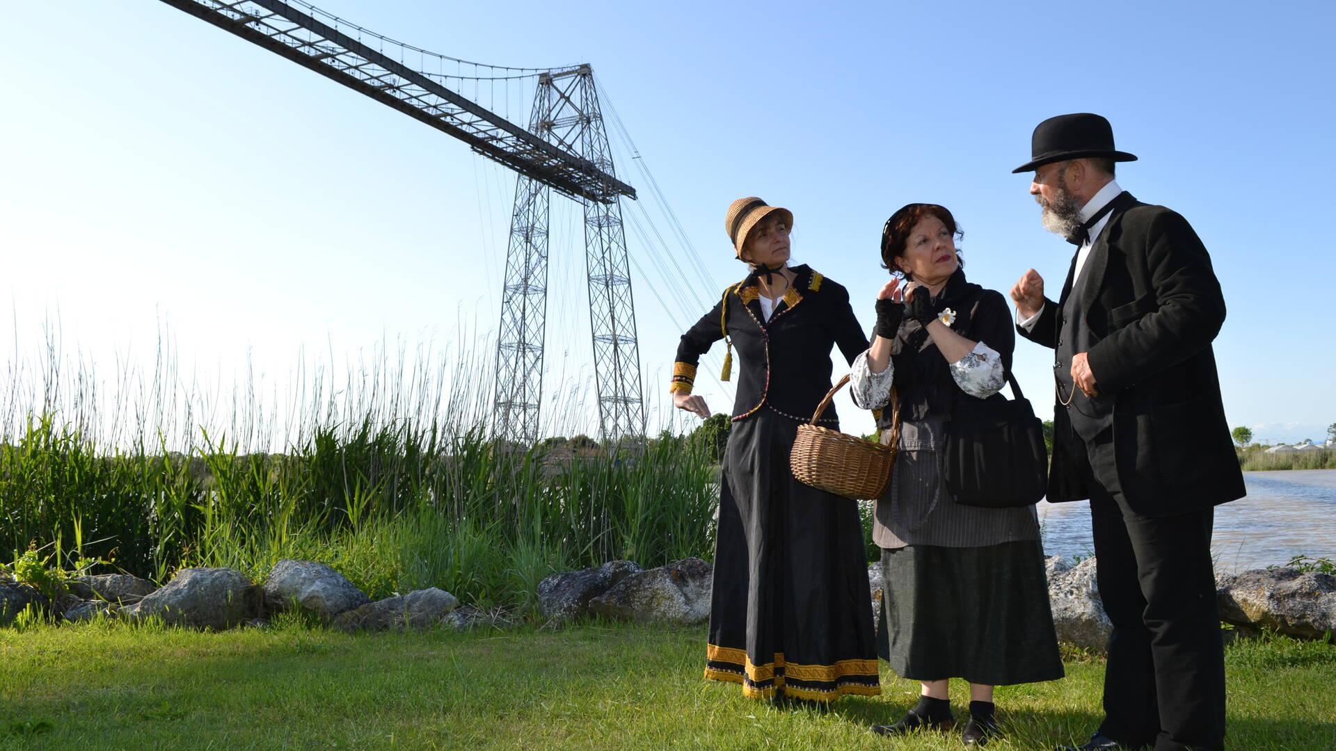 """Visite théâtralisée """"Ferdinand Arnodin ou l'aventure des ponts"""", Rochefort, Rochefort Océan"""