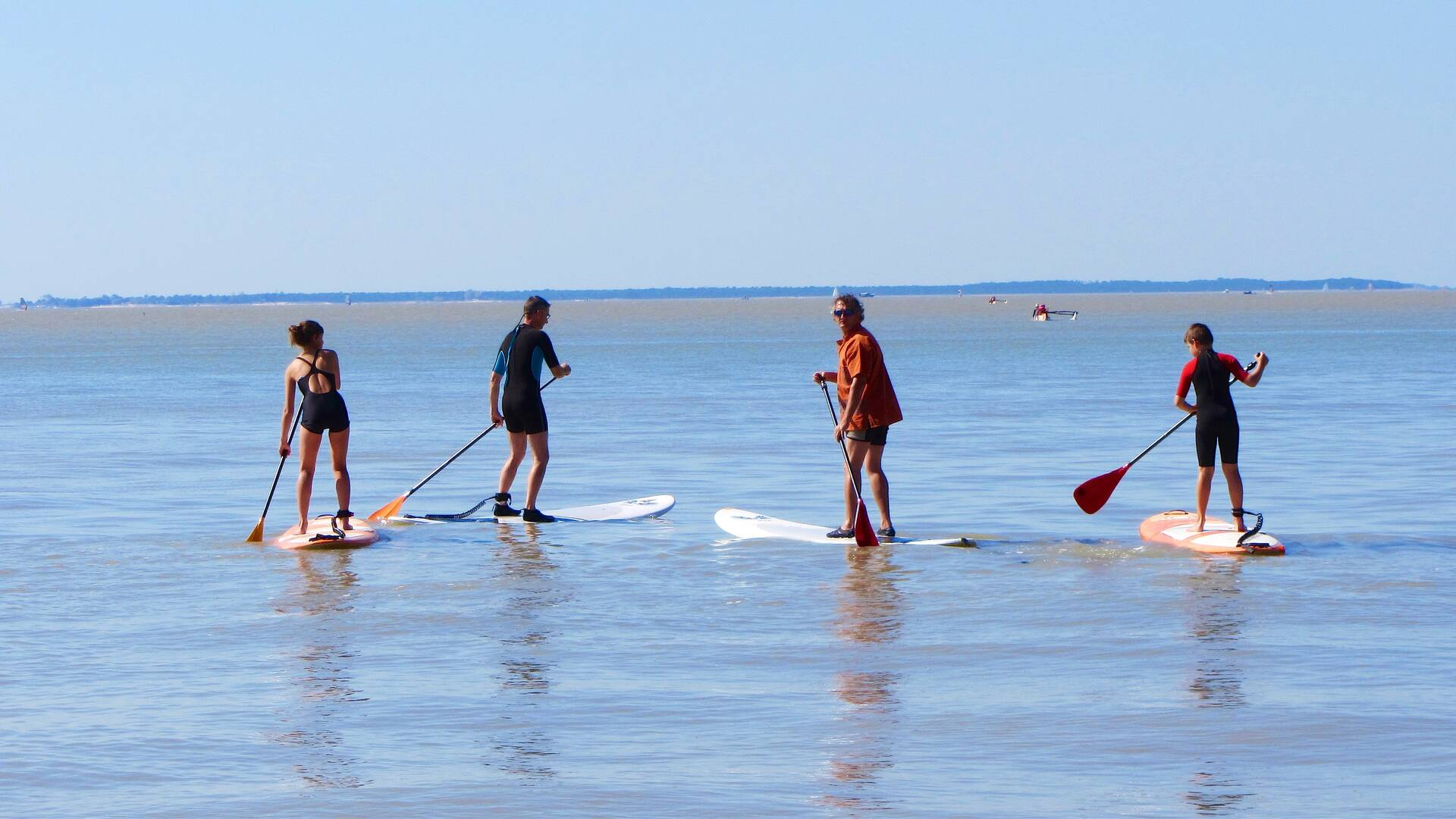 Balade en paddle, Antioche Kayak, station balnéaire de Fouras-les-Bains