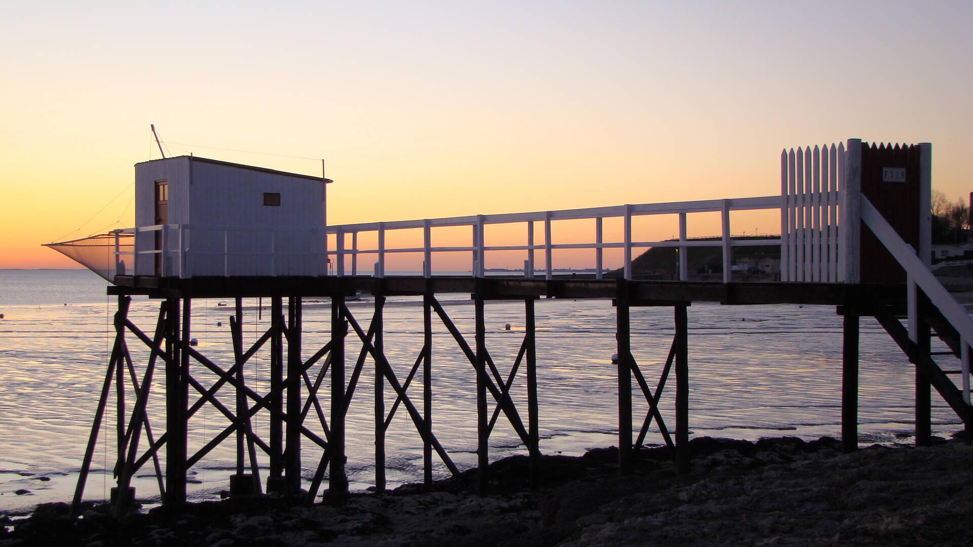 Sunset in Fouras©C.Ecale