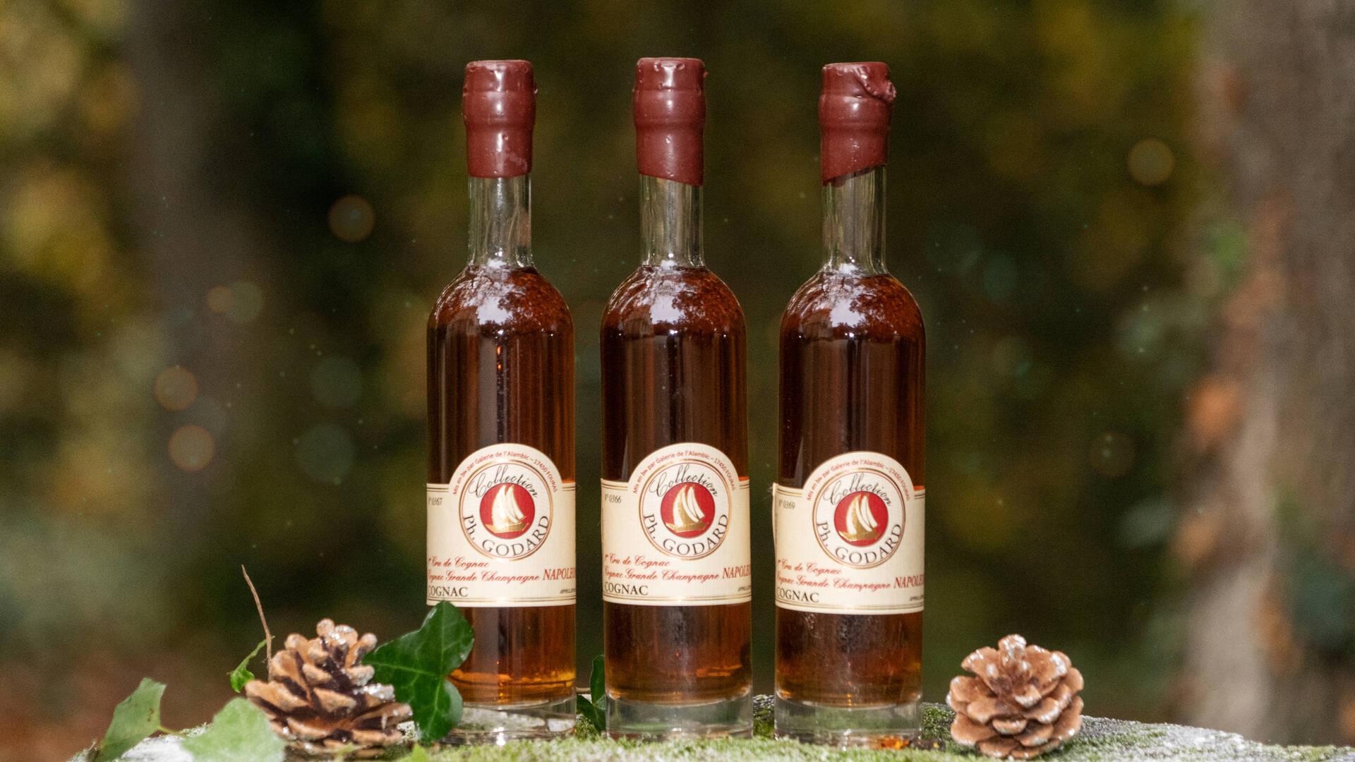 Cognac à offrir à Noël ©S. Hammad