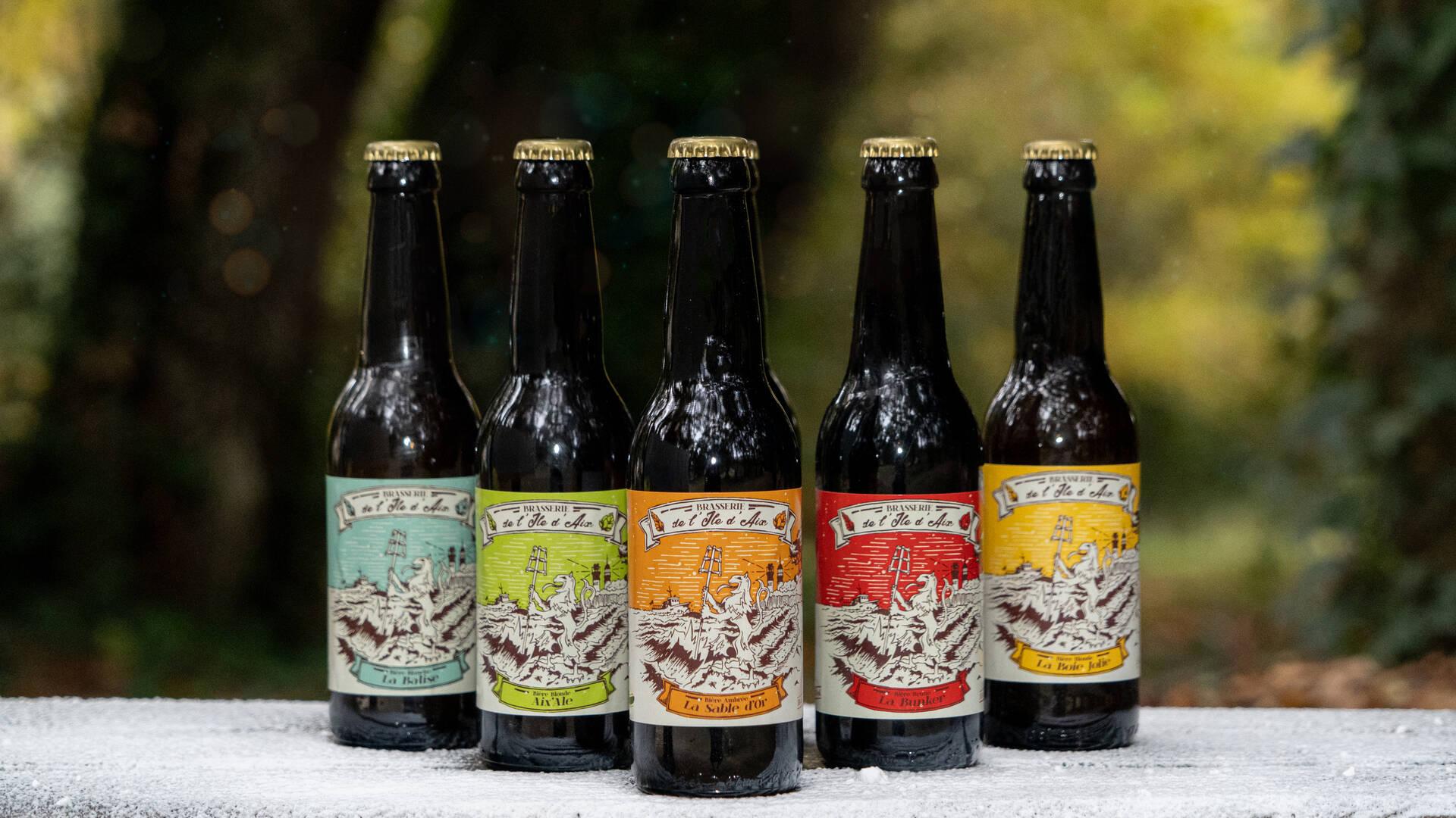 Bière de l'Ile d'Aix ©S. Hammad