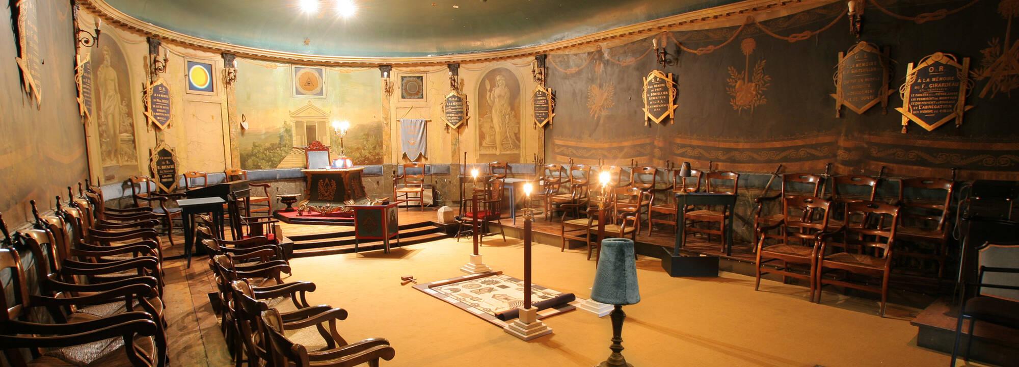 Le temple ma onnique de rochefort office de tourisme de rochefort oc an vacances rochefort - Office du tourisme de rochefort ...