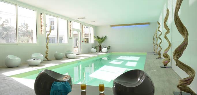 L'espace bien-être du Grand Hôtel des Bains de Fouras © Sylvie Curty