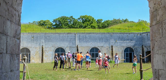 Visite guidée du Fort Liédot de l'Ile d'Aix