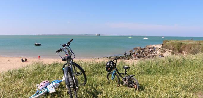 L'île d'Aix en famille à vélo