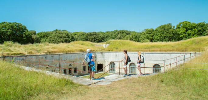 The fortifications of the Estuary of the Charente river