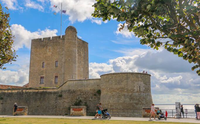 Fort vauban à Fouras-les-Bains © J. Paulet