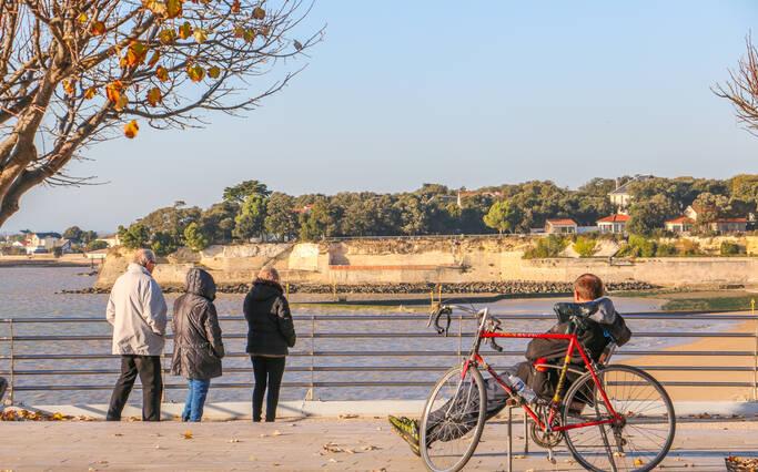 Tourismus in Fahrrad