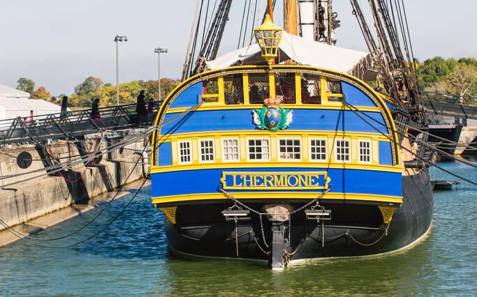 Visiter les sites de Rochefort Océan