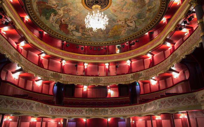 théâtre de la Coupe d'Or à Rochefort ©D.Compain